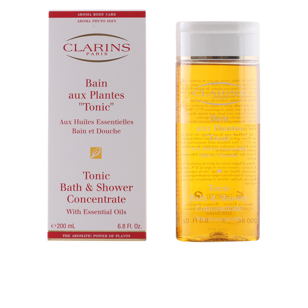Shower Gel Clarins Women Bain Aux Plantes Tonic 200 Ml Ebay
