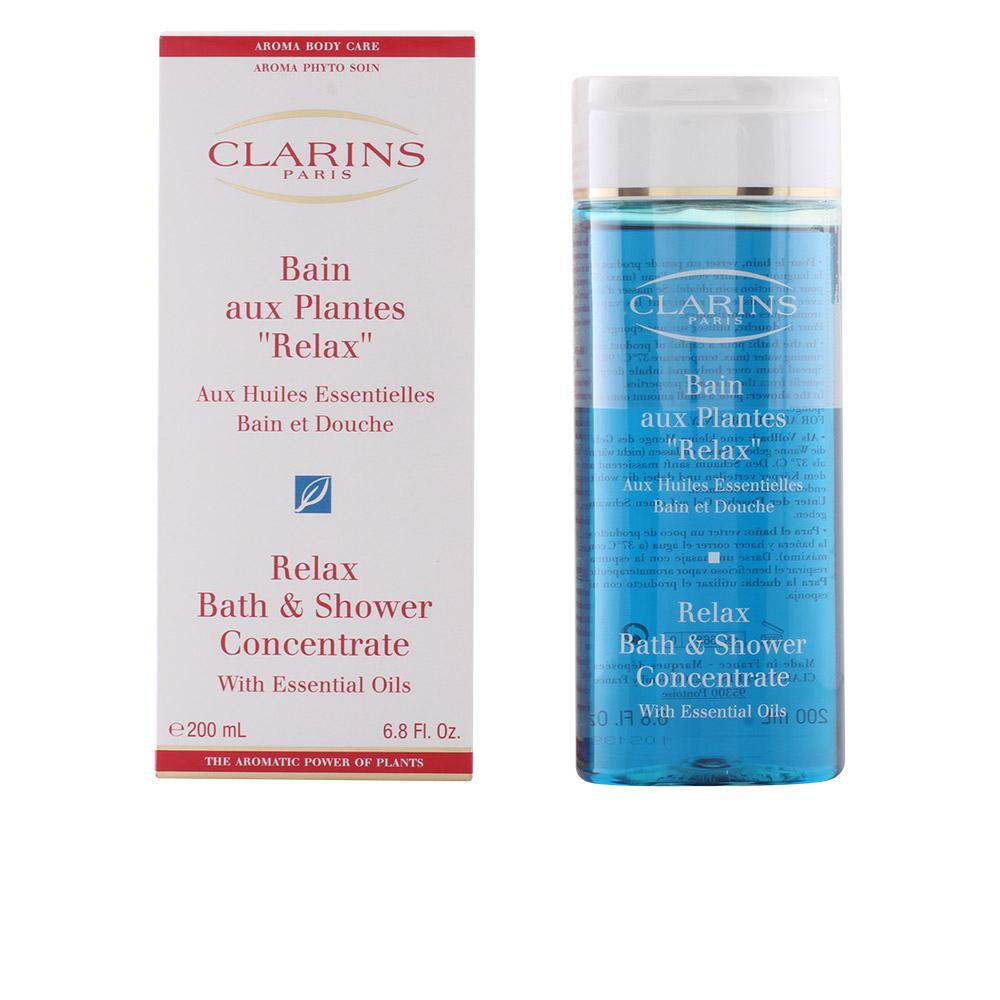 Shower Gel Clarins Women Bain Aux Plantes Relax 200 Ml Ebay